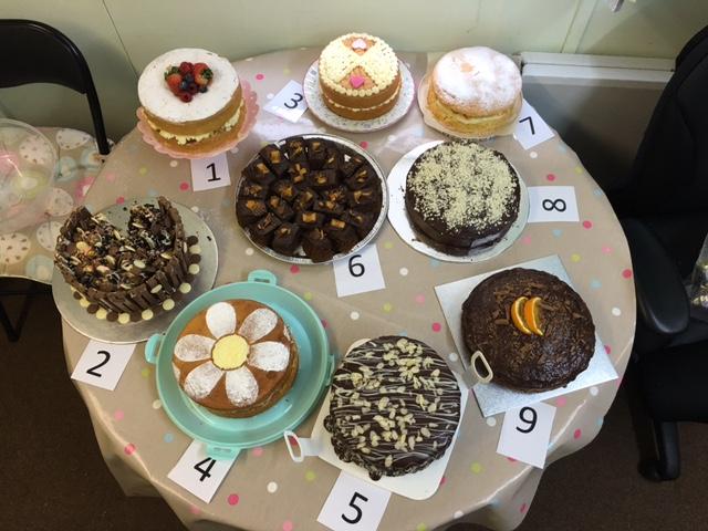 9 cakes