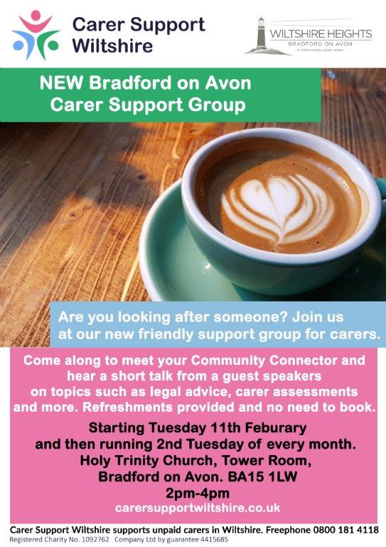 carers support group cafe